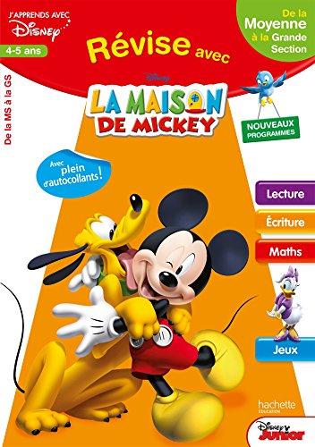 Révise avec Mickey - De la MS à la GS - Cahier de vacances