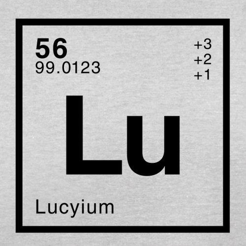 Lucy Periodensystem - Herren T-Shirt - 13 Farben Hellgrau