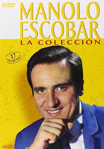 MANOLO ESCOBAR: LA COLECCIÓN - 17 PELICULAS [Spanien Import]  (Peliculas En Dvd)