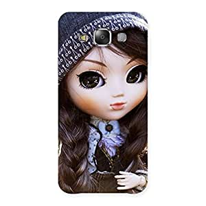 Gorgeous Sweet Angel Doll Multicolor Back Case Cover for Galaxy E7