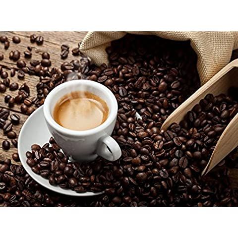 Natural mente–Santos Brasil, caffè, chicchi di caffè geröstet, Brasile, Santos, 100% Arabica Fresco, 250g