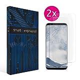 Galaxy S8 Plus Schutzfolie [2 Stück] Panzerfolie volle Abdeckung [HD-Klar] einfache blasenfreie Aufbringung [Displayschutzfolie transparent] KEIN Glas Schutzglas sondern Samsung S8+ Folie