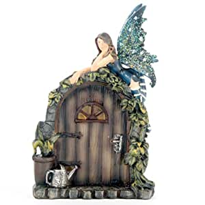 L o a fairy door watering time kitchen home for Amazon uk fairy doors