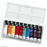 Pebeo 21305Box, Gouachefarben von 10ml Farbe sortiert
