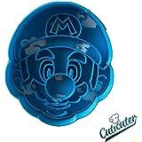 Mario face cookie cutter Mario Bros