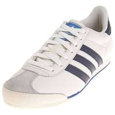 adidas Men's Kick Chalk/Collegiate Navy/True Blue Trainer G13993 12 UK