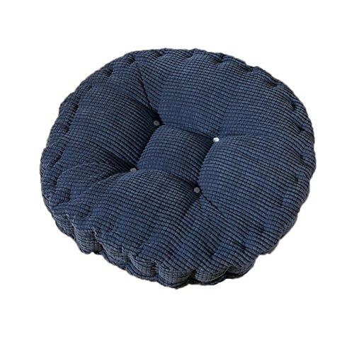 MSYOU - Cojín de asiento para silla redondo, cómodo, para casa, cocina, jardín, comedor, oficina...