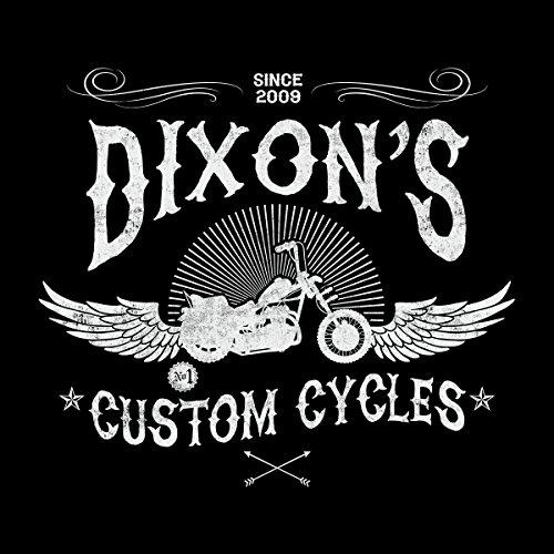 Dixons Custom Cycles Walking Dead Women's Vest Black