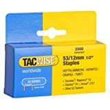 Tacwise 0337 -  Caja 2000 grapas galvanizadas 53/12mm