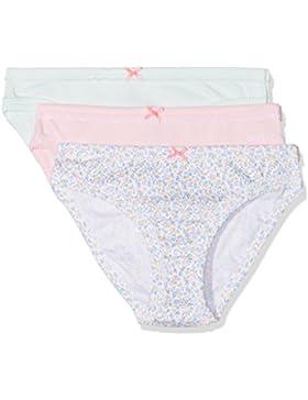 Petit Bateau Mädchen Unterhose, 3er Pack