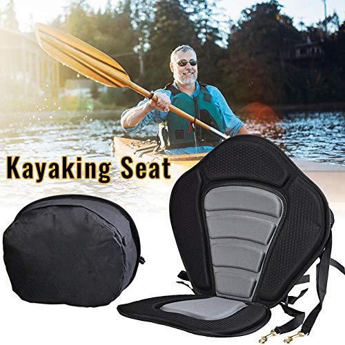 DescripciónEste producto es solo un asiento de kayak, no un kayak. Gracias por su atención。Este asiento de kayak es acolchado y de lujo. Está diseñado para adaptarse a la mayoría de los kayaks y canoas y hacer que sus deportes acuáticos sean segur...