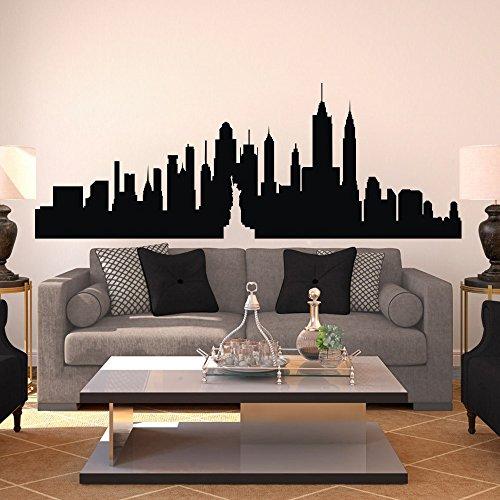 new-york-city-skyline-wall-decal-vinyl-ctiy-wall-sticekrl-new-york-wall-art-decor-wall-graphic-home-