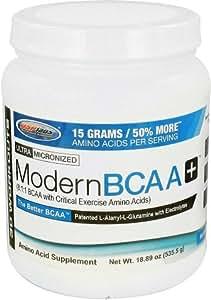 Modern BCAA+, Grape Bubblegum - 535g amino acid power energy strength by USP Labs M