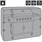 Charles Bentley Bbq Waterproof Gas Charcoal Premium Bbq Cover Extra Large 5-6 Burner