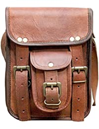 "9"" Leather Cross Body Bags Leather Sling Bag For Women Purse For Znt Bags - B0795T8C1N"