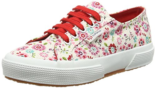 Superga 2750 Cotflowersj, Baskets Hautes mixte enfant