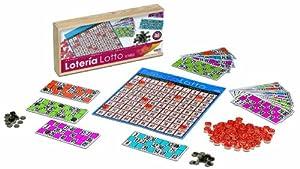 Juguetes Cayro - Lotería de Madera con 48 cartónes, 32 x 15 x 5 cm