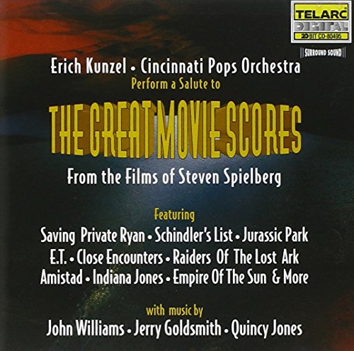 The Great Movie Scores From The Films Of Steven Spielberg (Film Songs Hindi)