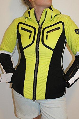 Sportalm Kitzbühel Amazone Damen Ski Jacke Gelb Schwarz Größe 36 oder 42 Neu mit Etikett (36)