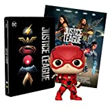 Justice League Steelbook + Poster + Funko the Flash