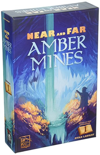 Red Raven Games RRG00018 Near and Far: Amber Mines, Mehrfarbig - Nah Fern Und