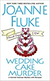 Front cover for the book Wedding Cake Murder by Joanne Fluke