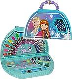 alles-meine.de GmbH 51 TLG. Set __ großer Stifte-Koffer -  Disney Frozen - die Eiskönigin  - Malkoffer mit Stiften - Filzstifte - Bunststifte - Ausmalbilder + Wasser Farben + ..