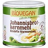 Gomme de caroube bio originale sans gluten Biovegan boîte de 100g | Gomme de caroube pour glace bio - Gomme de caroube en poudre bio - 100g
