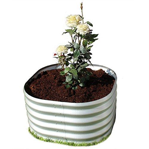 Gartenpirat Hochbeet aus Metall Alu/Zink-Beschichtet