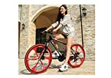 Vélo De Montagne Unisexe Suspension Vélo De Montagne 26 Pouces Roue Intégrale...