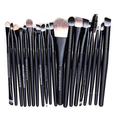 hosaire-pro-makeup-20pcs-brushes-set-eyeshadow-eyeliner-lip-brush-powder-foundation-tool-black