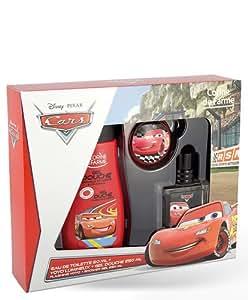 Coffret Parfum Cars Disney 50 ml avec Gel Douche 250 ml et Yoyo Lumineux