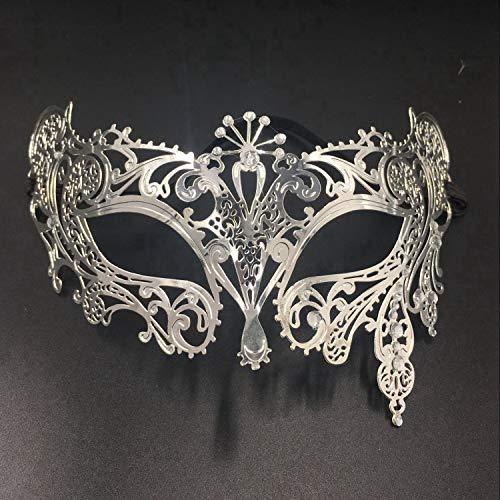 RXBC2011 Masquerade Maske Metall Venezianische Maske mit ()