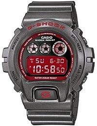 CASIO DW-6900SB-8ER - Reloj de caballero de cuarzo, correa de resina color plata