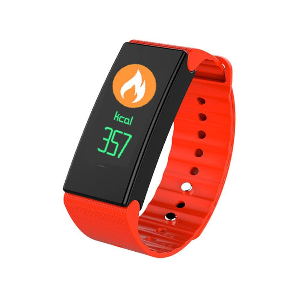 Pawaca Activity Fitness Tracker Waterproof Smartwatch Wristband Bracelet With Sleep Monitor Wireless Bluetooth Activity Tracker With Heart Rate Monitor Sport Pedometer For MenWomenKids