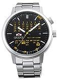 Orient automatico elegante & Smart multi-year calendario orologio giallo ER2L002B