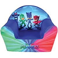 Fun House pyjamasques Silla Club para niños, Funda poliéster/Espuma Polyether, 52x 33x 42cm