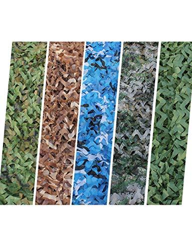 -Tarnung-Netz, Sonnenschirm-Netz-Jagd-bewaffnetes Zelt, im Freien, Thema-Partei-Dekoration, Armee-Art-Tarnungs-Netz und Gitter-Unterstützung ( Color : DESERT , Size : 10 × 20M ) ()