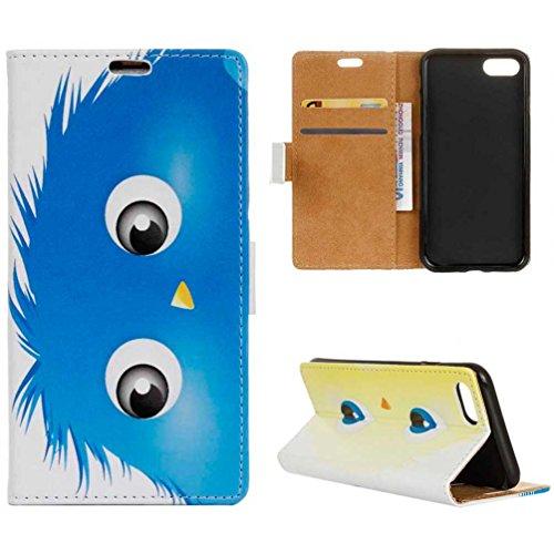 Coloré Motif PU Cuir portefeuille Housse Etui pour iPhone 7 (4,7 pouces) Case Coque Protection Flip Cover avec carte de crédit Slots (KW19#) KW08#