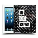 Head Case Designs Be The Alpha Fitness Typographie Ruckseite Hülle für iPad 3 / iPad 4