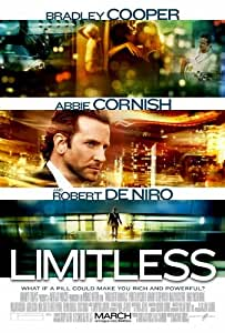 Limitless - Movie Poster - 69x102 cm