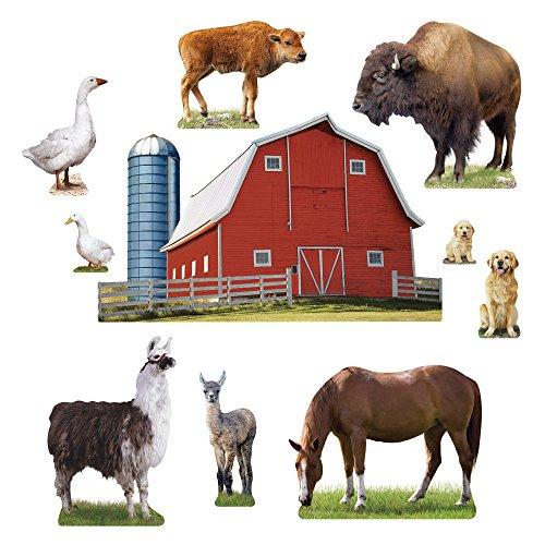 ere auf der Farm Bulletin Board Set (t-8281) ()