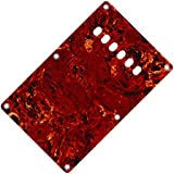 IKN 3Ply Red Tortoise Electric Guitar Back Plate Backplate