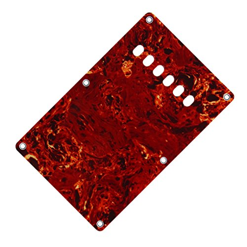 iknr-3-ply-plaque-arriere-pour-fd-fender-squier-guitare-electrique-red-tortoise-avec-les-vis