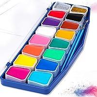 Pintura De Cara, Joylink Profesional Kit de Pintura Facial De Alta Calidad, Paquete de 16 colores