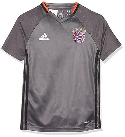 adidas Fc Bayern München Maillot de Football Mixte Enfant, Granite, FR : 152 (Taille Fabricant : 152)