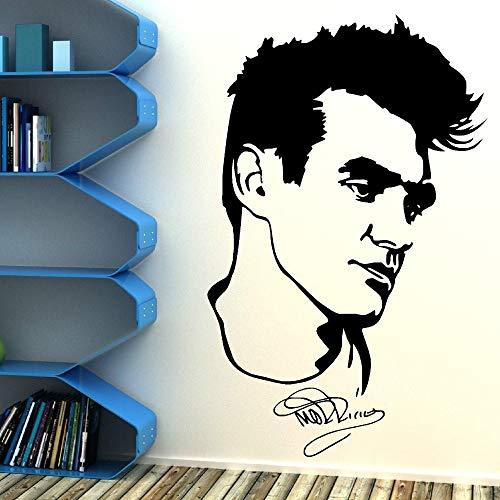 Morrissery The Smiths Vinyl Kunst Wandaufkleber Wohnzimmer Dekoration Wandbild Removable Wallpaper 57x90cm -