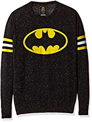 Batman Boys Sweater (BM1EBW1049_BLACK NEPS_13/14)