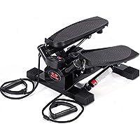 LY-01 Máquinas de Step Paso Mute Multi-función de Deportes de la Cintura Delgada máquina de Equipos de Fitness casa (Color : Negro)