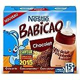 Nestlé babicao chocolat + paille 2x250ml dès 15 mois - ( Prix Unitaire ) - Envoi Rapide Et Soignée